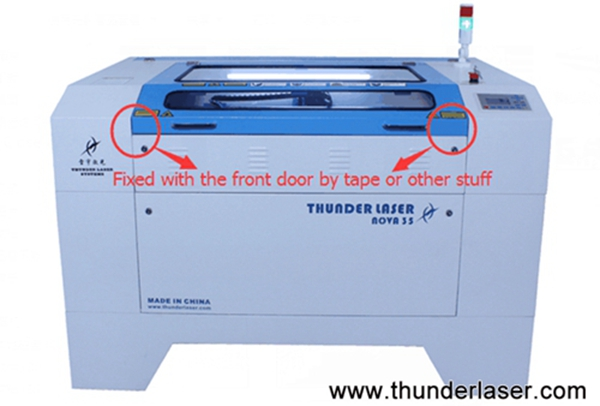 how to move the laser cutter